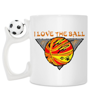 Кружка I Love The Ball