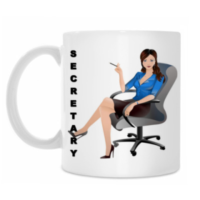 Кружка Секретарь
