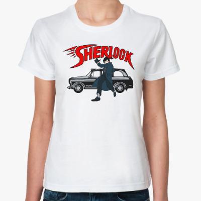 Классическая футболка Шерлок