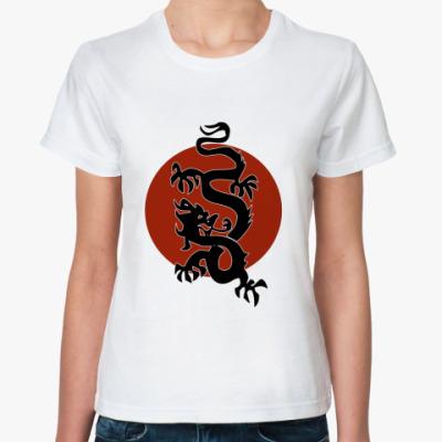 Классическая футболка   Dragon