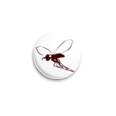 Значок 25мм fly