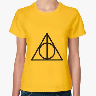 Женская футболка Harry Potter
