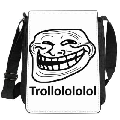 Сумка-планшет Trollface