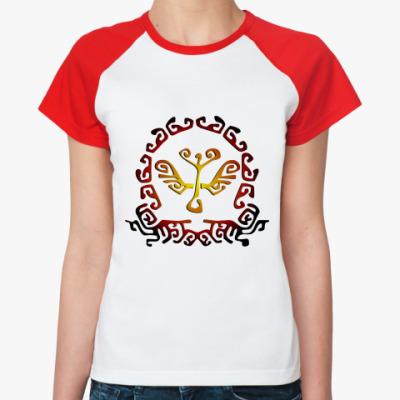 Женская футболка реглан Etno