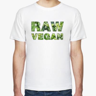 Футболка Raw vegan