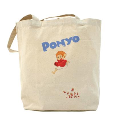 Сумка Ponyo #3 Холщовая сумка