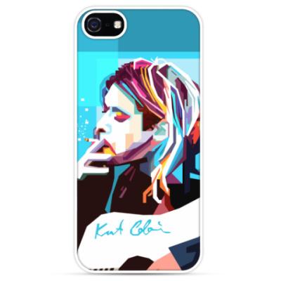 Чехол для iPhone Kurt Cobain