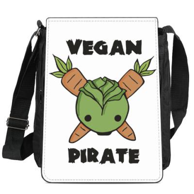 Сумка-планшет Веган пират