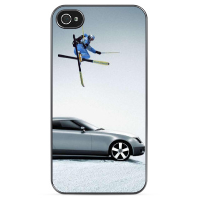 Чехол для iPhone SAAB