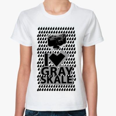 Классическая футболка photo
