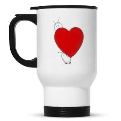 Кружка-термос Шварьки сердце