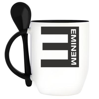 Кружка с ложкой Eminem E