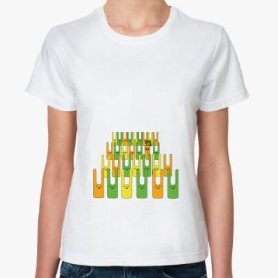 Классическая футболка Морковь в опасности