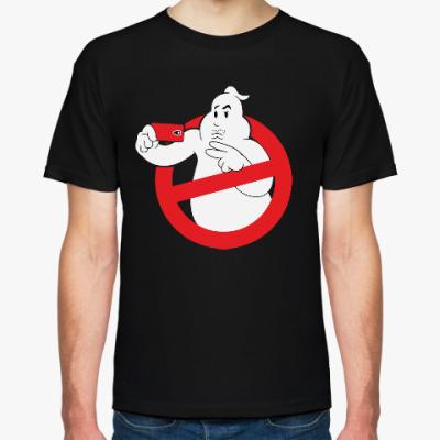 Футболка Selfie Duckface Ghost busters