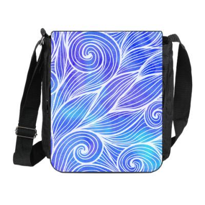 Сумка на плечо (мини-планшет) волна