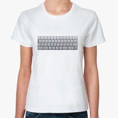 Классическая футболка Пиши! (женская)