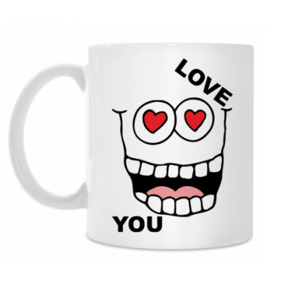 Кружка Love you
