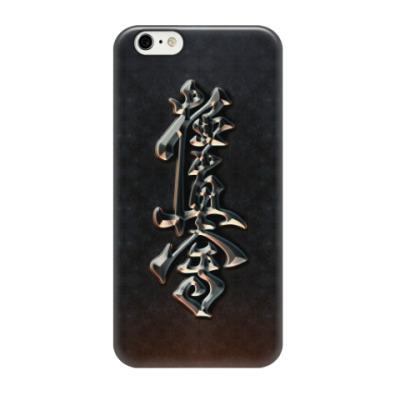 Чехол для iPhone 6/6s Иероглифический символ Кёкусинкай (Кёкусин) карате