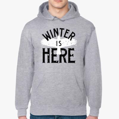 Толстовка худи Winter is here