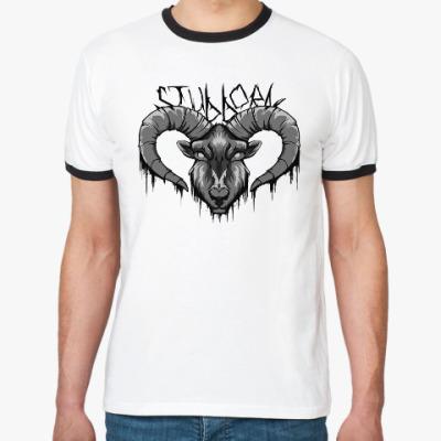 Футболка Ringer-T Stubborn