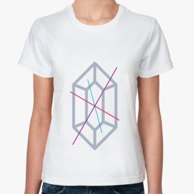 Классическая футболка Crystall