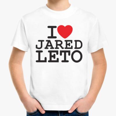 Детская футболка Джаред Лето