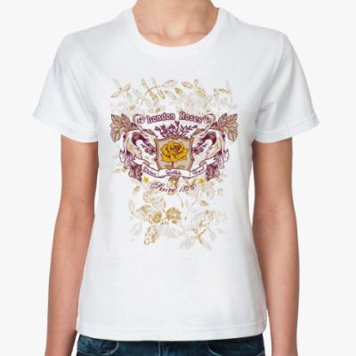 Классическая футболка Rose