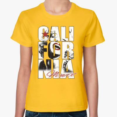 Женская футболка Монро в Калифорнии