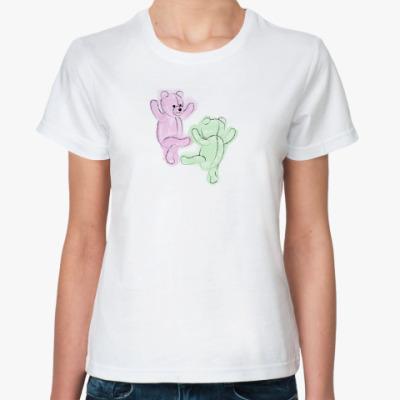 Классическая футболка  'Танец'