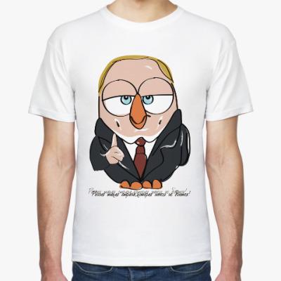 Футболка Сова Владимир Путин Суперсова Goofi