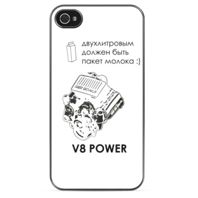 Чехол для iPhone V8 Power