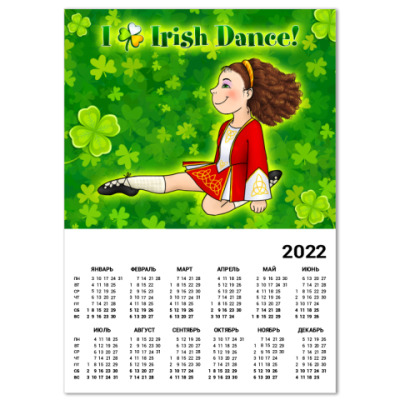 Календарь Irish Dance