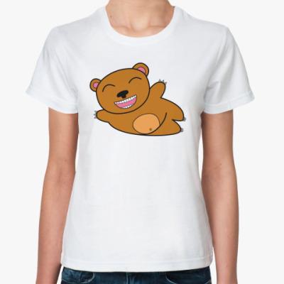 Классическая футболка «Медведь»