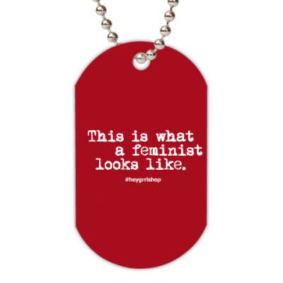 Жетон dog-tag F*** slogan жетон