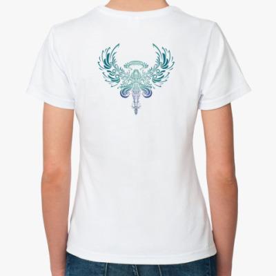 Классическая футболка  'Ангел'