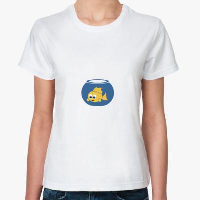 Классическая футболка Фишка в банке