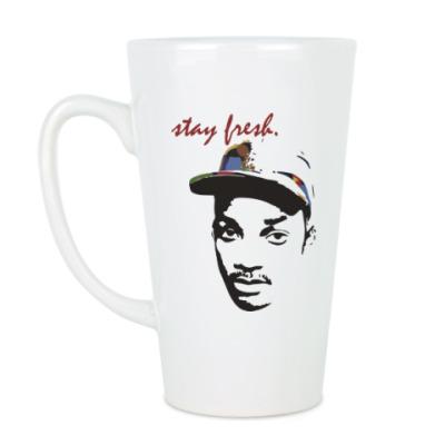 Чашка Латте Оставайся свежим