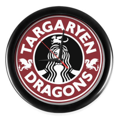 Настенные часы Драконы Таргариен