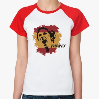 Женская футболка реглан Торрес