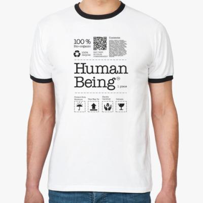 Футболка Ringer-T Человеческое существо