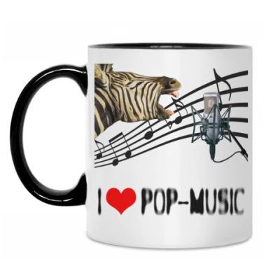 Кружка 'I Love Pop'