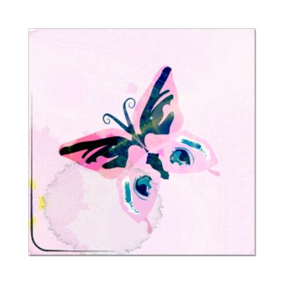 Наклейка (стикер) бабочка