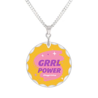 Кулон Grrl Power