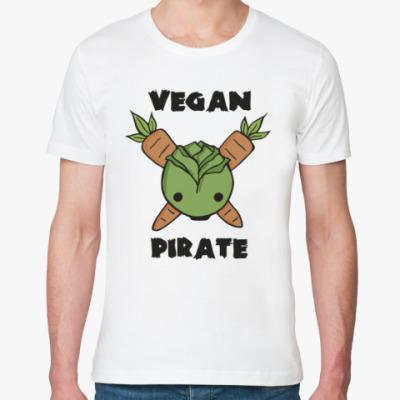Футболка из органик-хлопка Веган пират