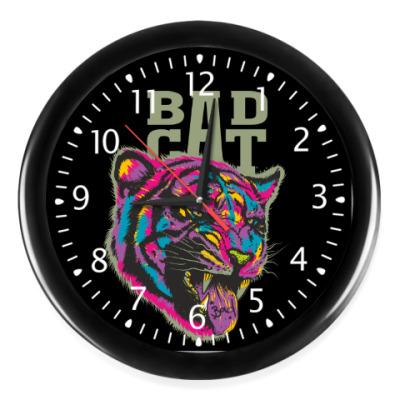 Настенные часы Bad Cat