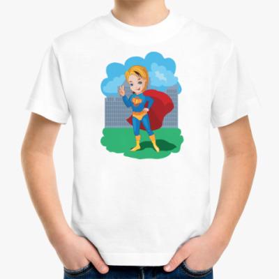 Детская футболка Супер бой