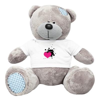 "Плюшевый мишка Тедди ""Diary-fan"" heart"