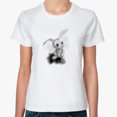 Классическая футболка Frendly Rabbit