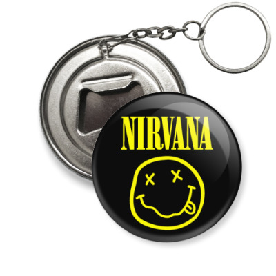 Брелок-открывашка Nirvana