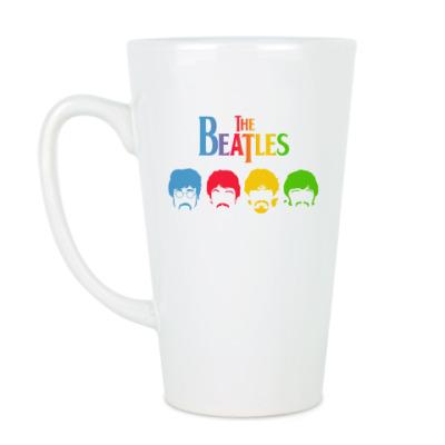 Чашка Латте Beatles